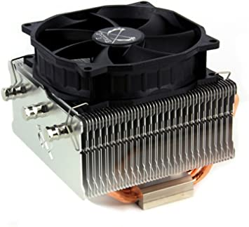 Scythe IORI 100mm Air CPU Cooler, Top Flow Heatsink with Quiet PWM Fan, Intel/AMD
