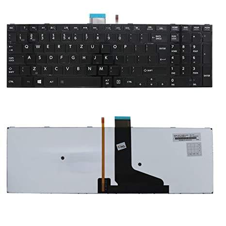 Generic New Black Backlit Laptop US Keyboard for Toshiba Satellite S55t-A S55D-A