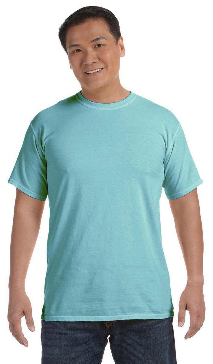 Comfort Colors Ringspun Cotton Garment-Dyed T-Shirt, CHALKY MINT, 4XL