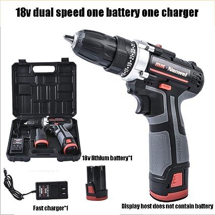 Destornillador eléctrico de combinación de batería de ión Litio con ...