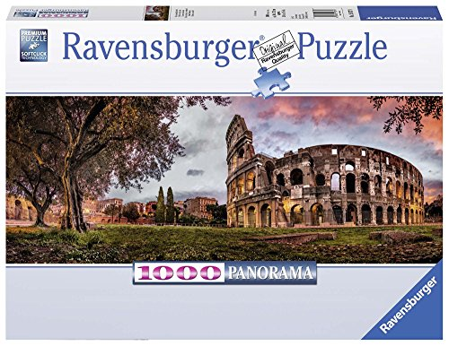 Ravensburger Sunset Coloseum 1000 Piece Jigsaw Puzzle Adults – Every Piece is Unique, Softclick Technology Means Pieces Fit Together Perfectly