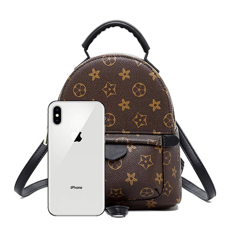 d42129a19c0 Amazon.com: Gerosse Designer Mini Leather Backpack Purse for Women ...