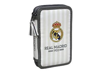 Real Madrid - Triple Soft, Portatodo, 21,5x6x11 Cm (Cyp Imports ...