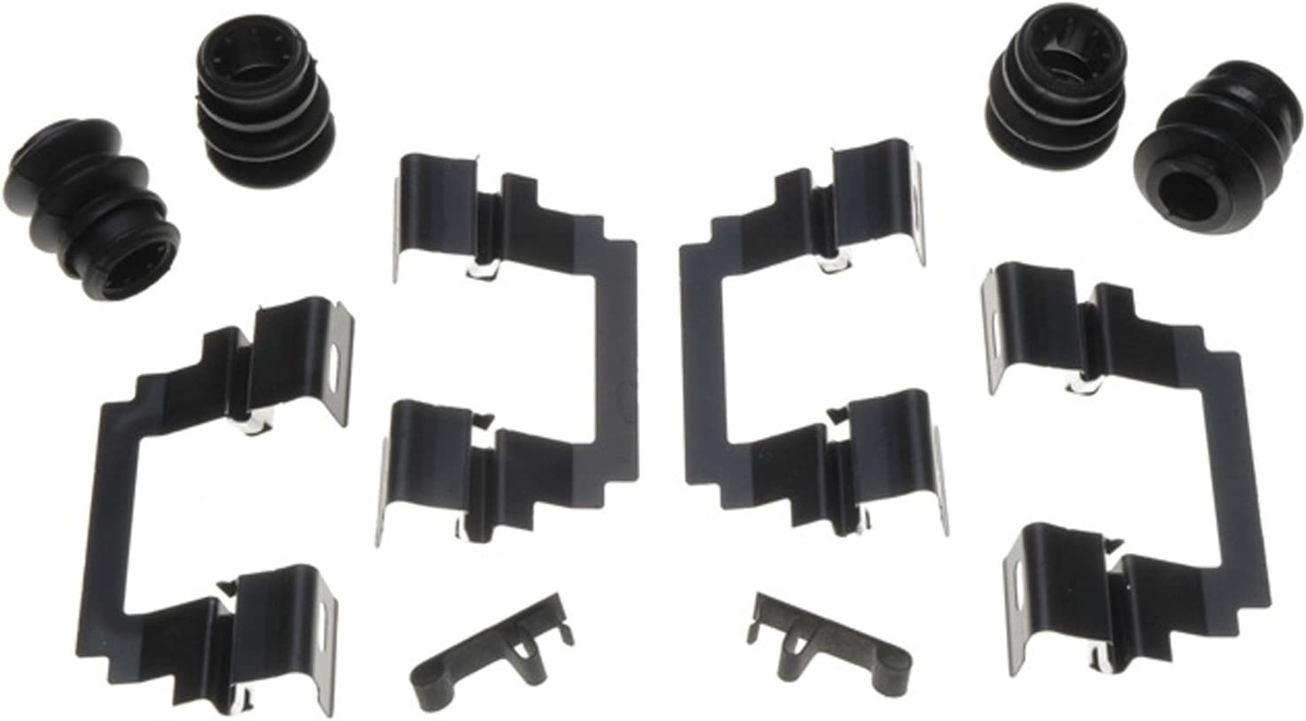 ACDelco 18K1357X Professional Front Disc Brake Caliper Hardware Kit with Clips and Seals
