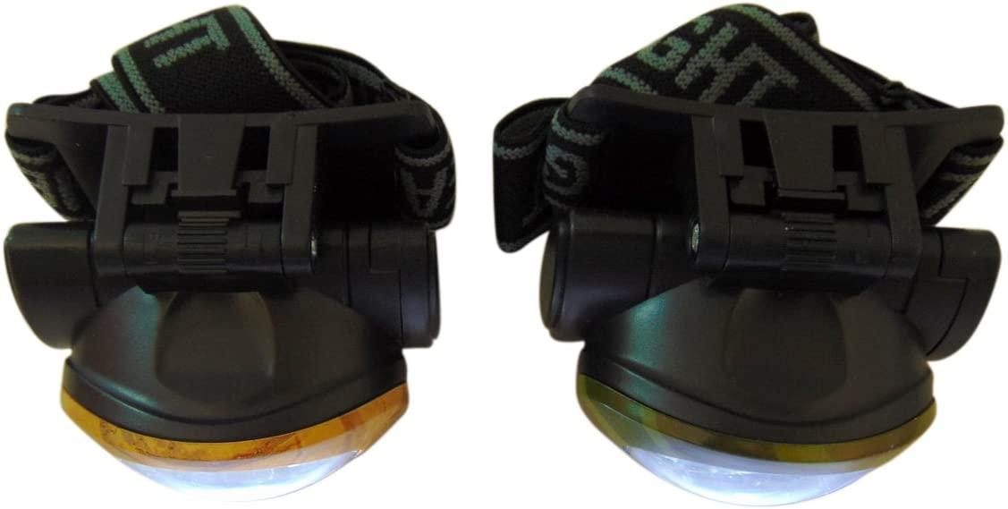 Westman Works Personal Camouflage Hunters Headlight Headlamp for Running or Hunting Set of 2