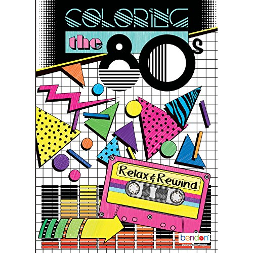 The 80's Advanced Coloring Book