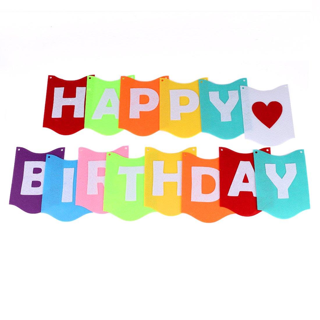 """pour Filles Gar/çons et Adultes Set de 8 Boules en Papier inclure 1 Banni/ères de Joyeux Anniversaire /""""Happy Birthday/"""" Gyvazla Kit de D/écorations Anniversaire 12 Ballons 1 Guirlandes /Étoile"""