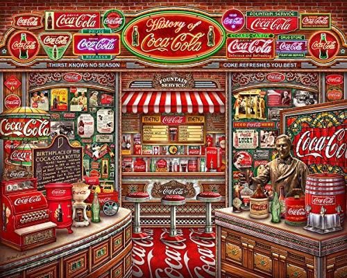Springbok Puzzles - Coca Cola History - 1000 Piece Jigsaw Puzzle - Large 24