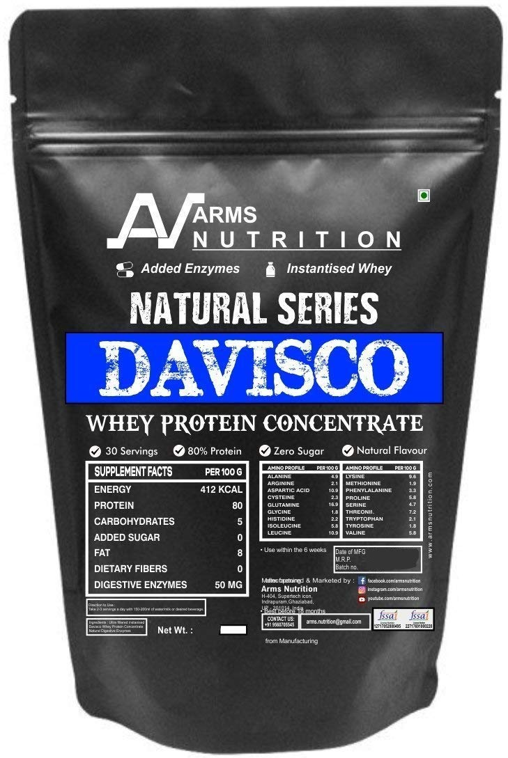 whey 80 protein per dl