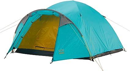 Grand Canyon Topeka 3 großzügiges 3 Personen Zelt, Kuppelzelt, Igluzelt für Trekking, Camping, Outdoor, Festival, mit Vorbau für extra Stauraum