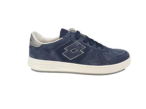 Lotto Sneakers Uomo Signature t7382 Blu Grigio  Amazon.it  Scarpe e ... 2e080dc6582