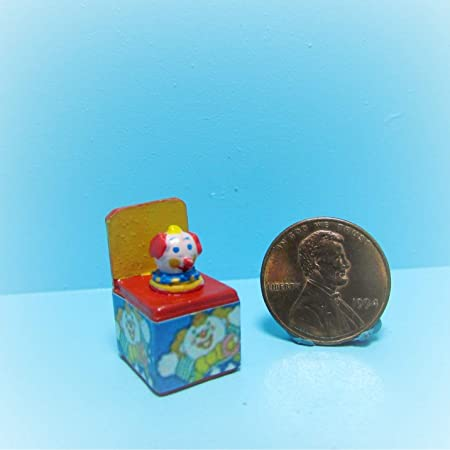 Dollhouse Miniature Jack-in-the-box