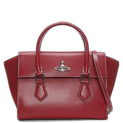 f9ef3024f6f Vivienne Westwood Matilda Handbag red: Amazon.co.uk: Shoes & Bags