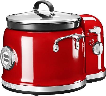 KitchenAid - Robot de cocina con mezclador, color rojo imperial: Amazon.es: Hogar