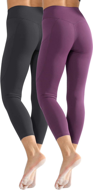 Cadums Tummy Control High Waist Running Workout Leggings