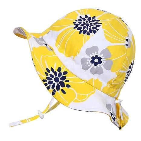 Sombrero de sol para bebés 50+ UPF transpirable 7d5ecf16f22