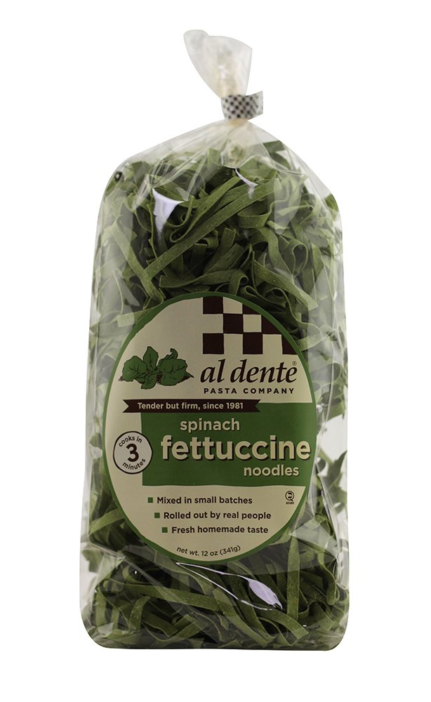Al Dente Spinach Fettuccine, 12 oz