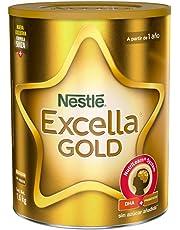 Nestle Nestlé Excella Gold Leche En Polvo Para Niños De 1 A 3 Años, Lata 1, 6 Kg, Pack of 1