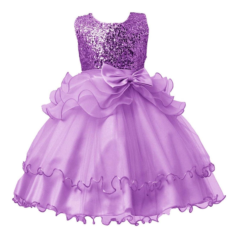 d3b79ac6e Btruely Herren ropa bebé Vestidos Bebe Niña Verano Vestidos Floral princesa  fiesta Vestido de novia para