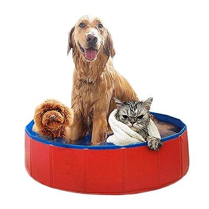 Tamano Jacuzzi.Auoker Piscina Plegable Para Perros Jacuzzi Para Mascotas