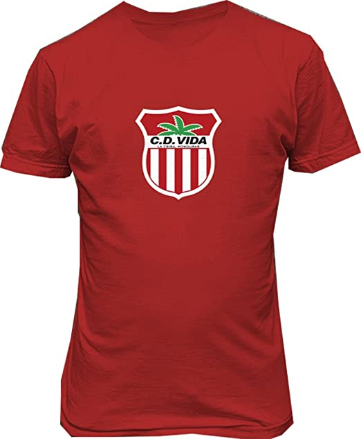 CD Vida Club Deportivo y Social Vida Honduras T shirt Camiseta futbol Soccer