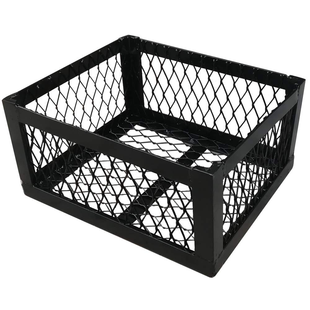 TNPSHOP Charcoal Wood Basket Longhorn BBQ Smoker Flow Highland (12''X10''X6'') by TNPSHOP