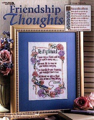 Friendship Thoughts - Cross Stitch Pattern ()