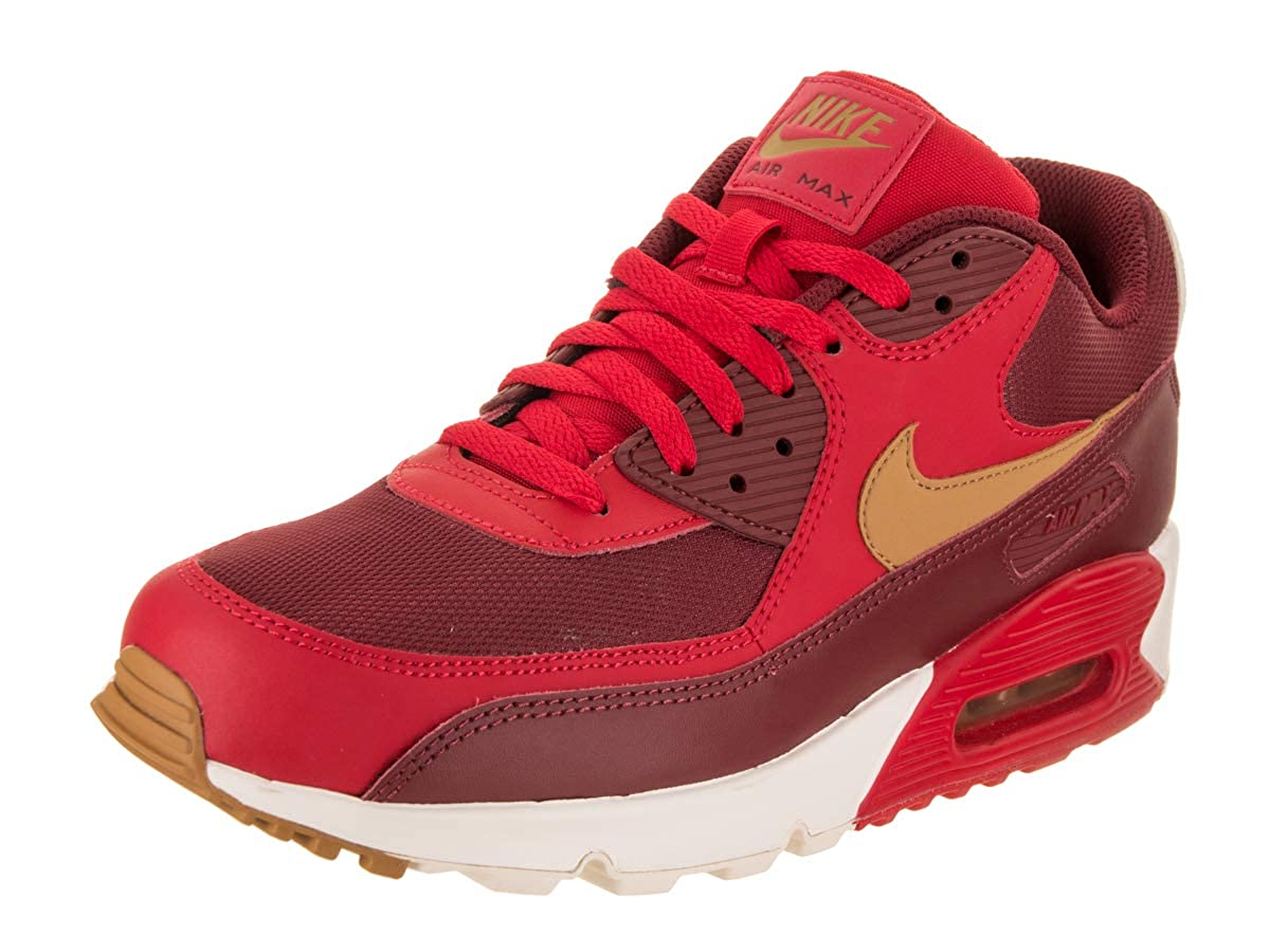 promo code 01a20 fa59a Nike Mens Air Max 90 Essential Leather Trainers