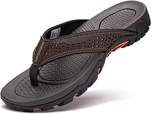 GUBARUN Mens Sport Flip Flops Comfort