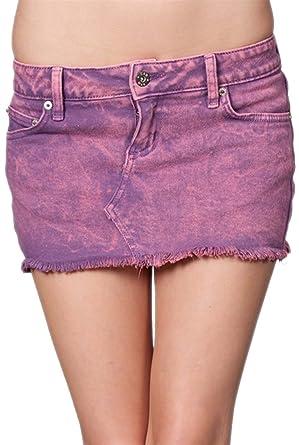 df2f66c29 G2 Chic Women's Acid Wash Denim Mini Skirt(BTM-SKT, PPL-25) at ...