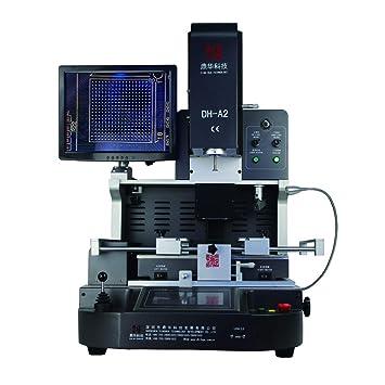 Placa base para ordenador portátil, semiautomática, de aire caliente, infrarroja, para reparación de bga: Amazon.es: Bricolaje y herramientas