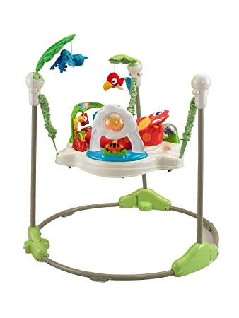 Fisher Price Rainforest Jumperoo Baby Bouncer Entertainer K6070