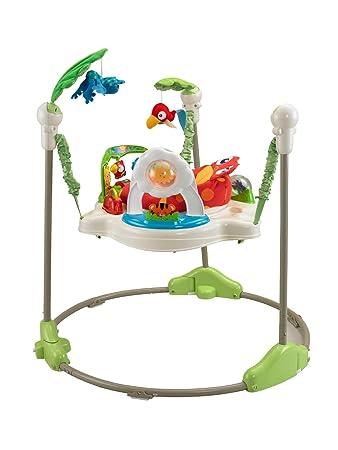 Fisher Price Rainforest Jumperoo Baby Bouncer Entertainer K6070