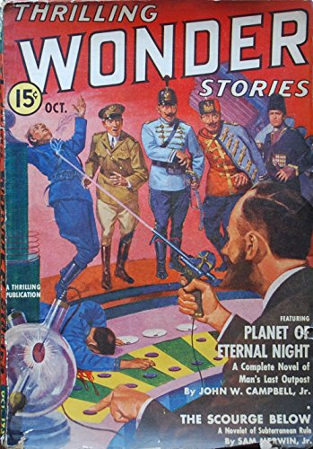 Thrilling Wonder Stories, October 1939