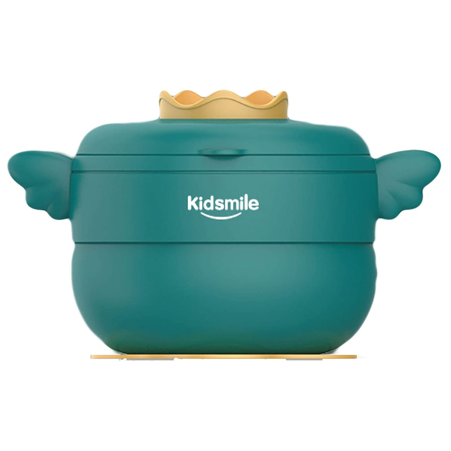 Kidsmile Baby Warming Bowls for Feeding Toddler and Kids with Firming Suction Dishes and Grinding fuction