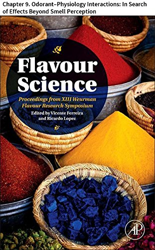 Flavour Science: Chapter 9. Odorant–Physiology Interactions: In Search of Effects Beyond Smell Perception