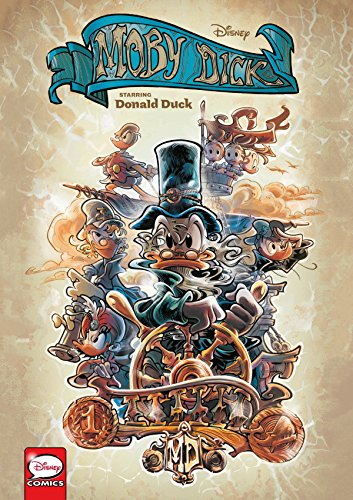 Disney Moby Dick, starring Donald Duck (Graphic Novel)