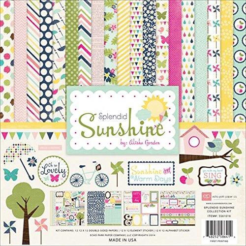 Echo Park Paper Company SS61016 Splendid Sunshine Collection -