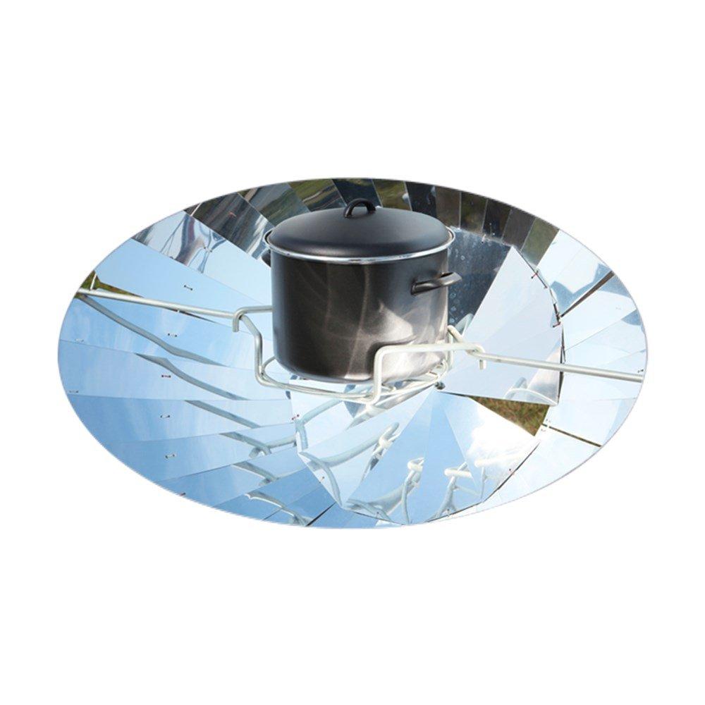 CafePress Parabolische Solarkocher–Aufkleber (Oval)–Oval Bumper Aufkleber, Euro Oval Auto Aufkleber Small - 3x5 Farblos