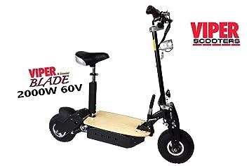 Scooter eléctrico Viper Blade 2000 W 60 V: Amazon.es ...