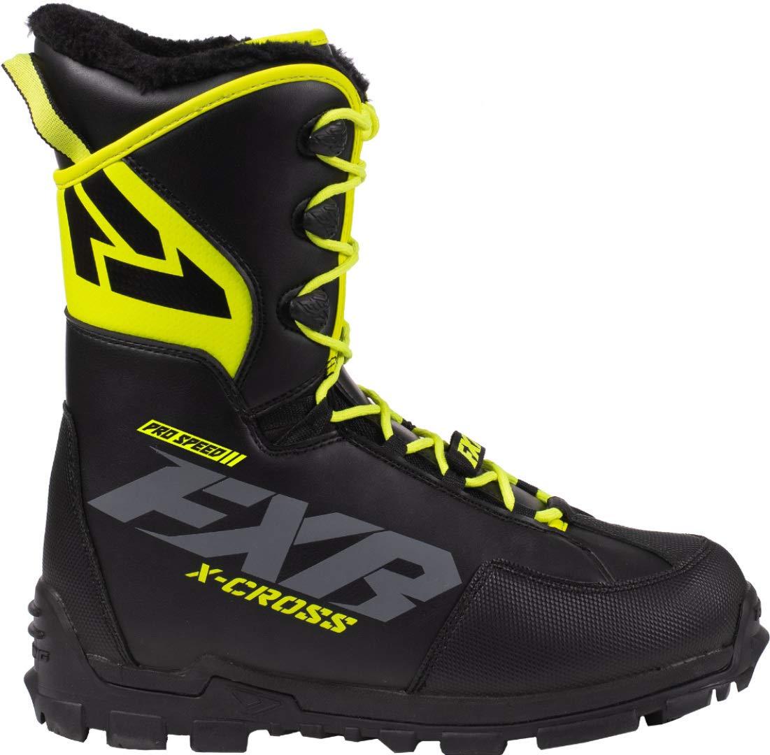 FXR X-Cross Pro Speed Boots Black Ops Mens 11