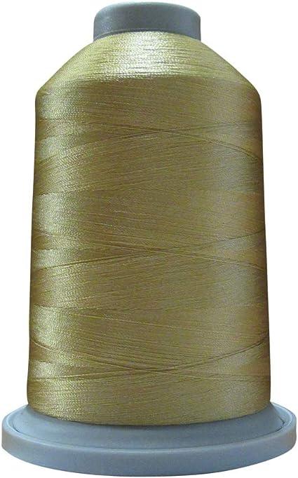Glide Thread Trilobal Polyester No 40-5000 Meter Spool 24525 Khaki
