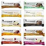 Power Crunch Original Protein Bars, 1.4-Ounce Bars (Total of 10 bars), Variety Pack of all 10 Flavors Review