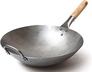 Craft Wok Traditional Hand Hammered Carbon Steel