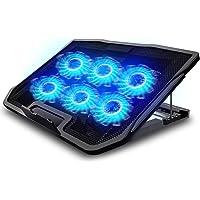 TYC Ventilador Laptop, Base De Refrigeración para Ordenador Portatil, Viento De Gran Velocidad, Diseñado para Gamers y…