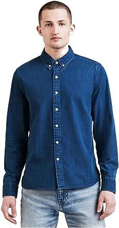 Levis Hombre Camisa Pacífica, Azul: Amazon.es: Ropa