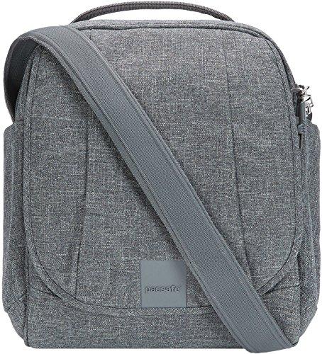Pacsafe Metrosafe LS200 7 Liter Anti Theft Crossbody/Shoulder Bag Fits 10 inch Tablet ()