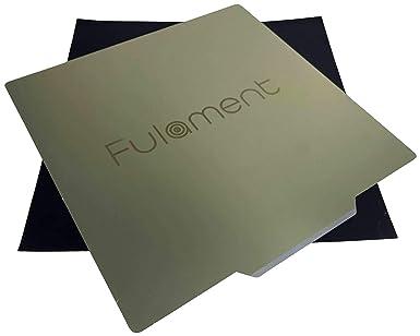 Fulament Spring Cama flexible de acero PEI para impresión 3D de ...