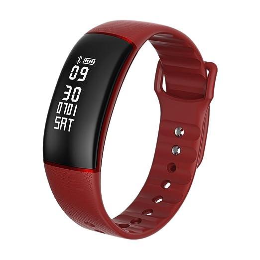 Reloj Inteligente Smartwatch Xinan Pulsera elegante del sueño de la caloría del podómetro del monitor de