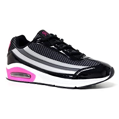 ff0805a286 Ladies Running Trainers Air Tech Bubble Max Shock Absorbing Fitness Gym  Sports Shoes Size 4 - 8: Amazon.co.uk: Shoes & Bags